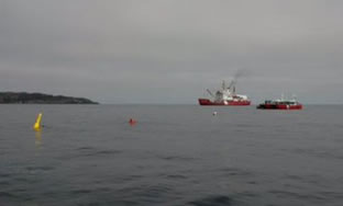 Environmental Response team on Manolis L