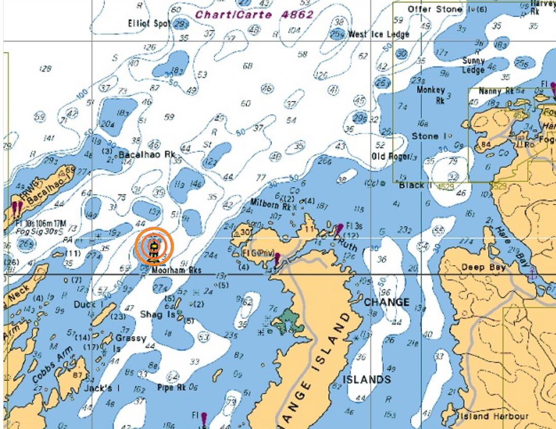 Map Smartbay buoy