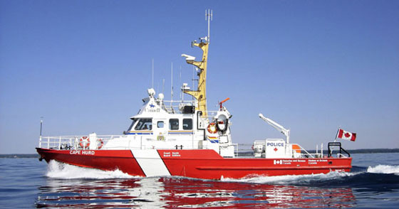 CCGS Cape Hurd on Maritime Security patrol