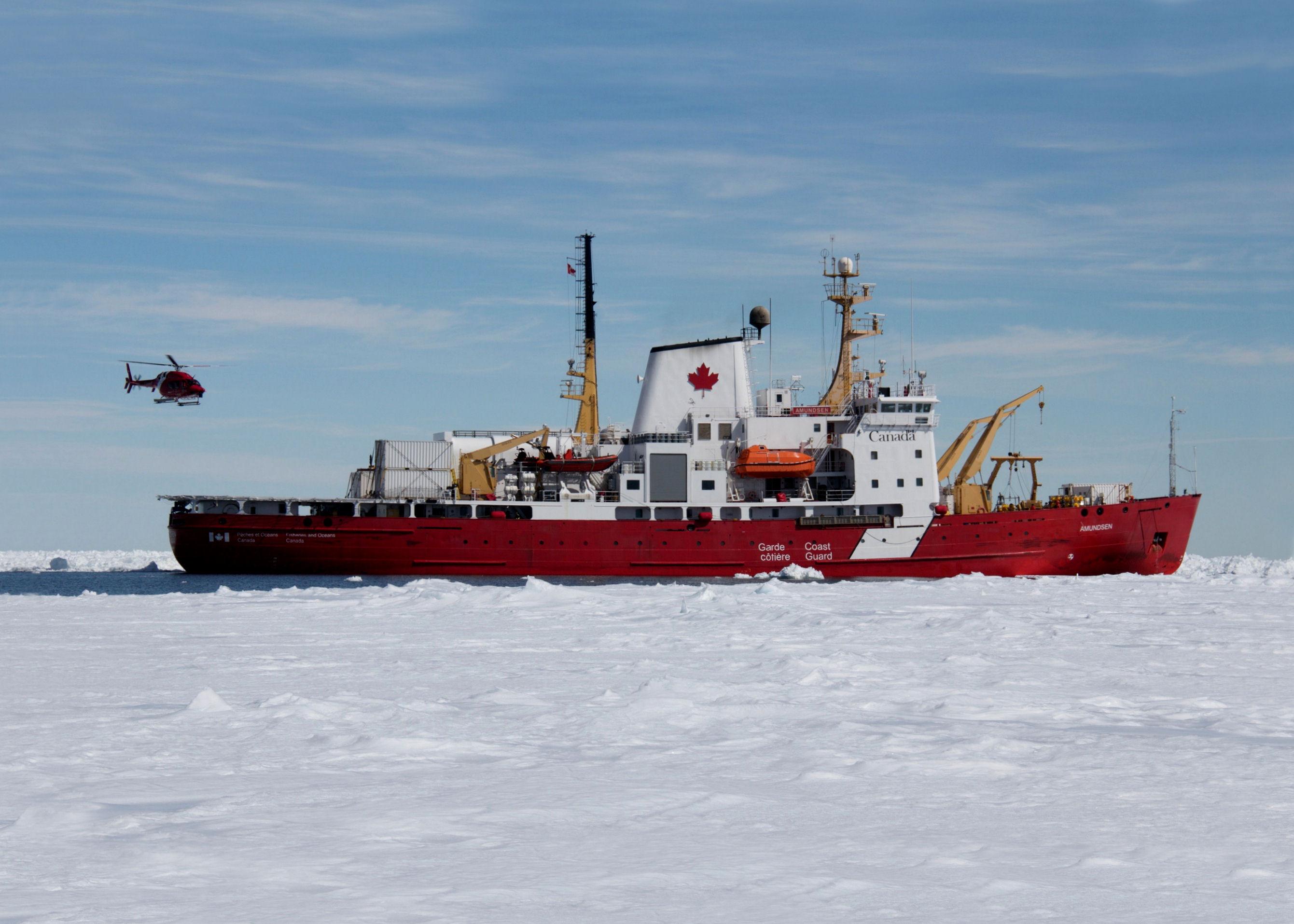 Amundsen dans la Baie D'Hudson