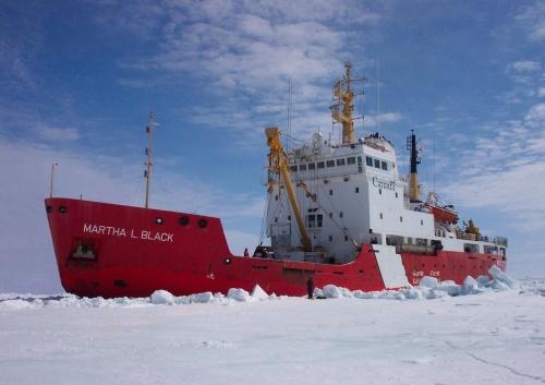 Martha L. Black 3 (5x7) in ice
