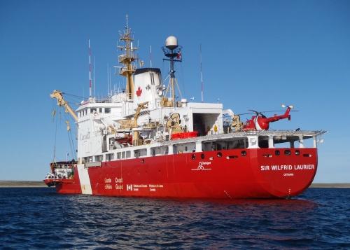 Sir Wilfrid Laurier 2 (5x7) stern/helo