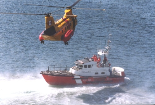 Cape St. James with Labrador Helicopter