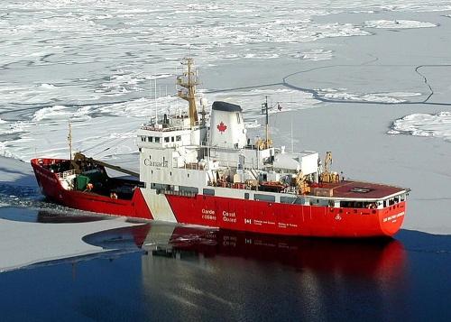 Sir Wilfrid Laurier 1 (5x7) in ice